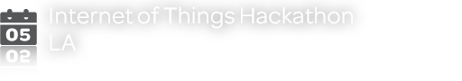 Internet of Things Hackathon - LA